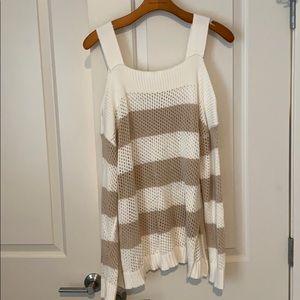 Boston proper! Knitted sweater size Large